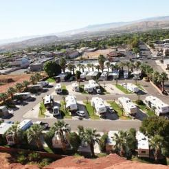 UPPER RV PARK NESTLED UNDER RED HILL